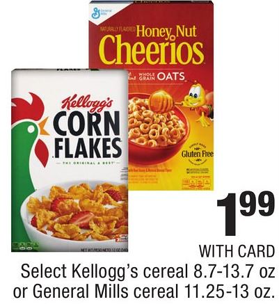 Kellogg's Cereals at CVS
