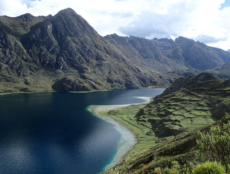 Laguna Lauricocha.