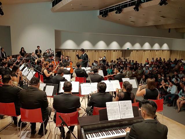 Éxito en Zofri con la Orquesta Regional de Tarapacá y su Concierto de Película