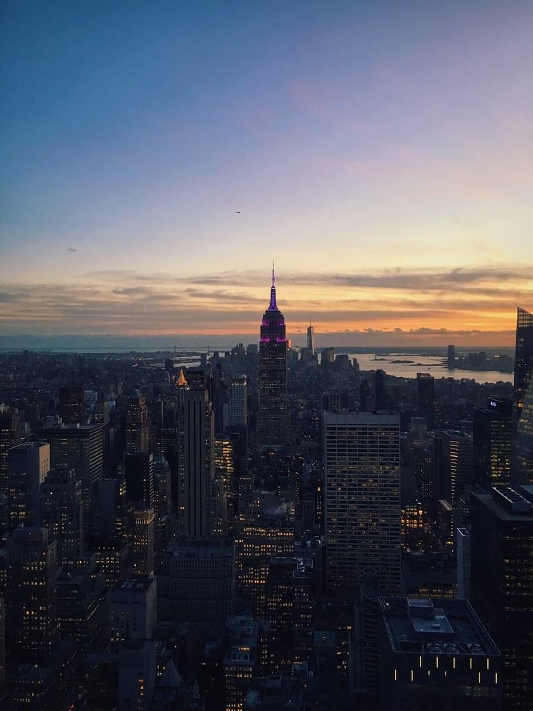New York City top of the rock #vscocam #vsco #RockefellerC ...