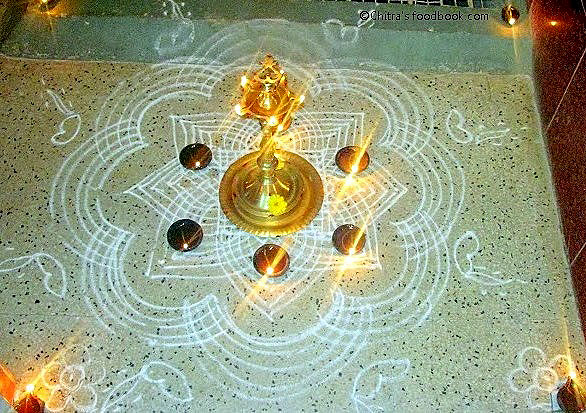 Karthigai Deepam Pooja Procedure,Date,Recipes | Chitra's