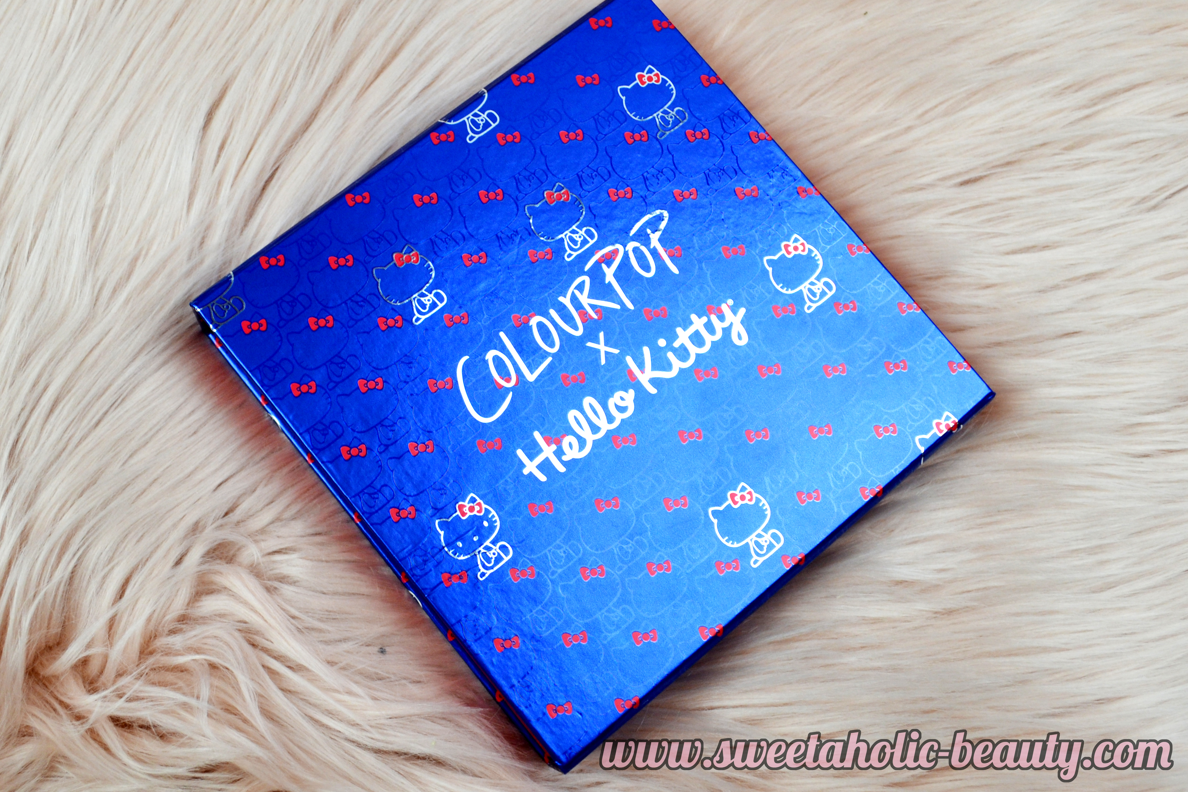 Colourpop x Hello Kitty Hello Pretty Collection Review & Swatches - Sweetaholic Beauty