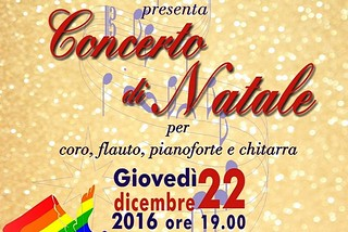 Noicattaro. Concerto Natale Lute front