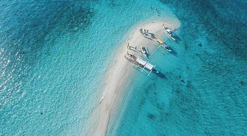 tunning White Sand Vanishing Island In The Philippines - Palad Sandbar In Marinduque | by theyolomoments