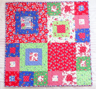 American Patchwork and Quilting sew along