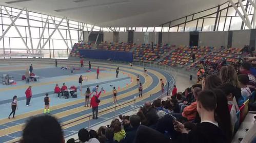 Relleu 4 x 200 Campionat Catalunya Clubs Infantil Pista Coberta