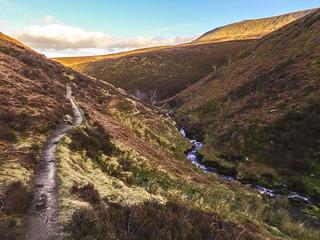Halfway down Fair Brook