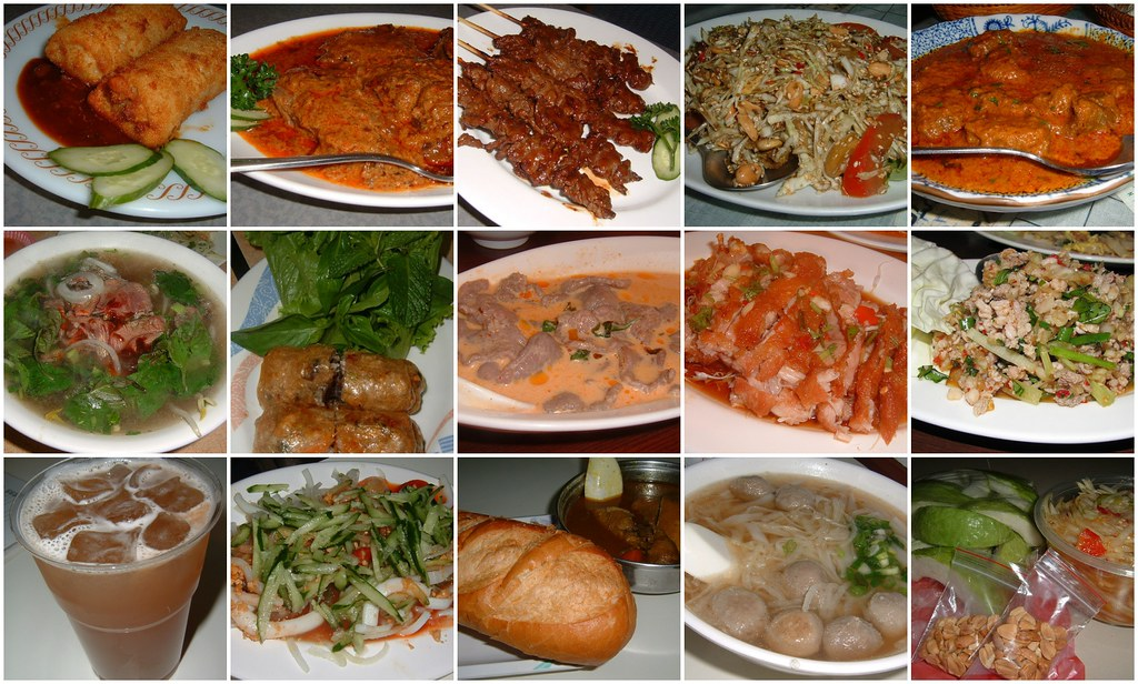 Southeast asian food in taipei 2006 after living in for Aja east asia cuisine