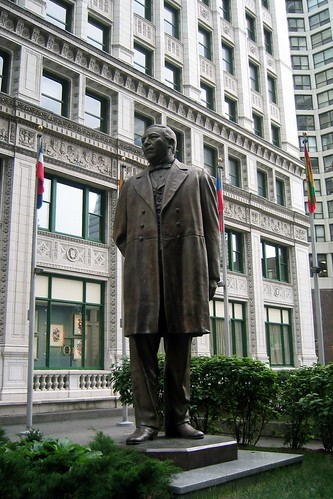 Chicago - Near North Side: Benito Juárez Statue | by wallyg