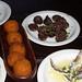 Croquetas de Bacalao y Maiz, Blood Sausage