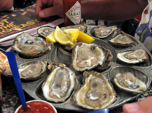 Oysters on the Half Shell | by NYC Comets