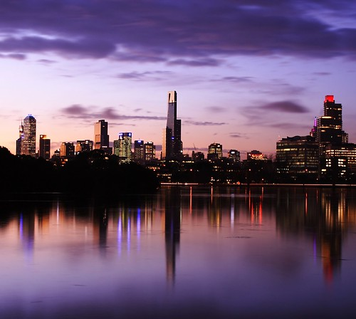 Melbourne from Albert Park Lake 2 | by .robbie