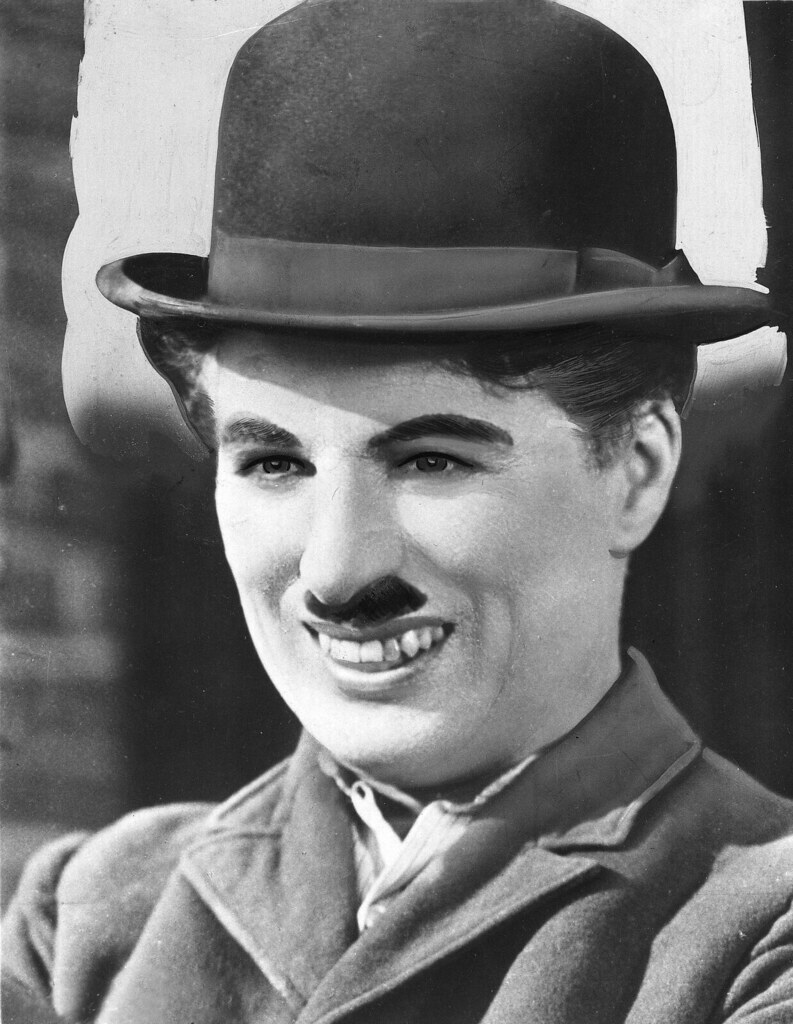 Charlie Chaplin Face Paint
