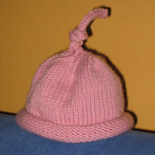 Knitting Pattern Umbilical Cord Hat : Umbilical Cord Hat Knitted in approximately 24 hours (not ? Flickr