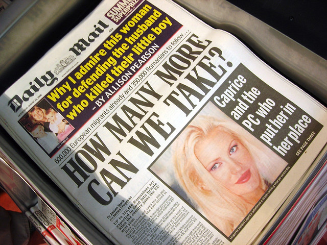 Xenophobia | Appalling headlines have appeared in the Britis… | Flickr