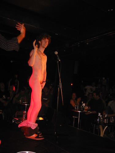 Live nude comedy porn