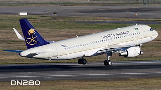 Saudia A320-214 msn 7444