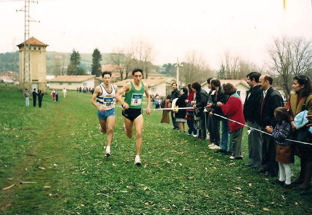 Campeón de Asturias Junior de Campo a Través. 1990. Foto 032.