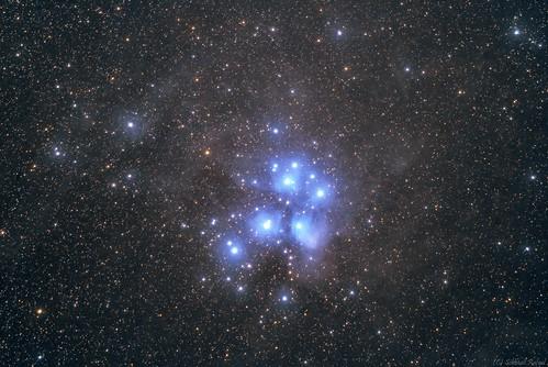 VCSE - A Hét Nővér - Messier 45 - Schmall Rafael