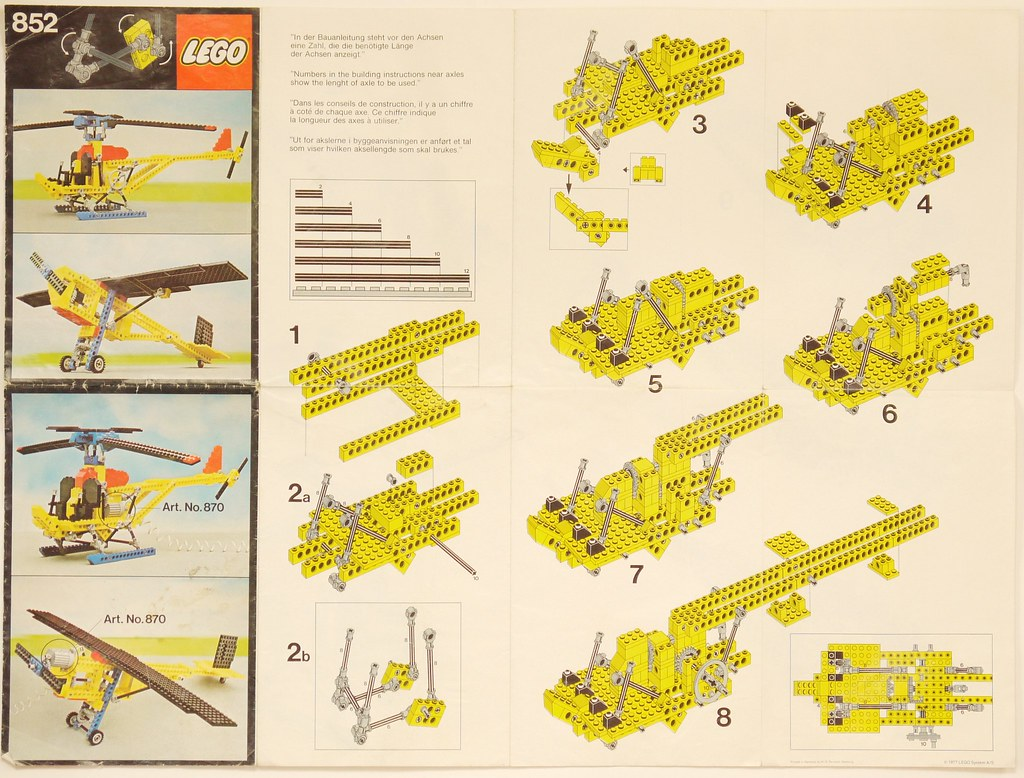 349 LEGO® Bauanleitung Instruction Nr