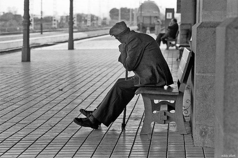 Estación de Ferrocarril de Toledo en 1981. Fotografía de Eddy Allart © Eddy Allart