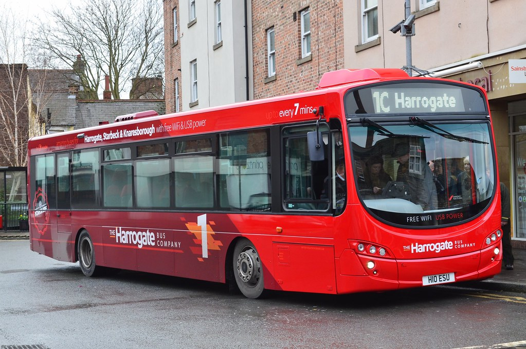 Transdev: The Harrogate Bus Company: 1800 / H10ESU | Flickr