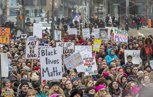 manif des femmes women's march montreal 18 | by Eva Blue