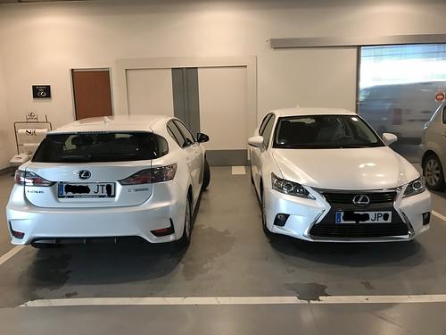 Lexus: Coche de sustitución y nuestro Lexus CT 200h