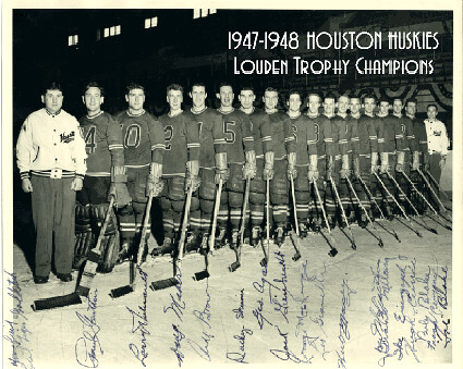 1947-48 Houston Huskies team