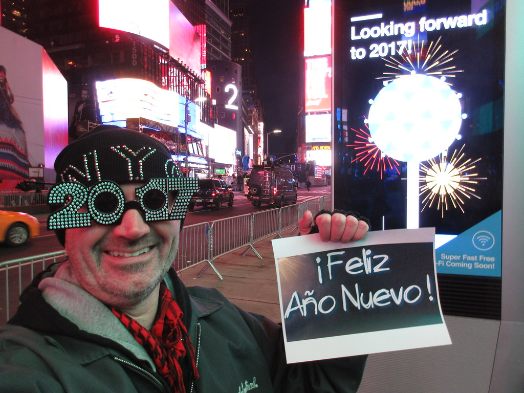 happy new year from times square new