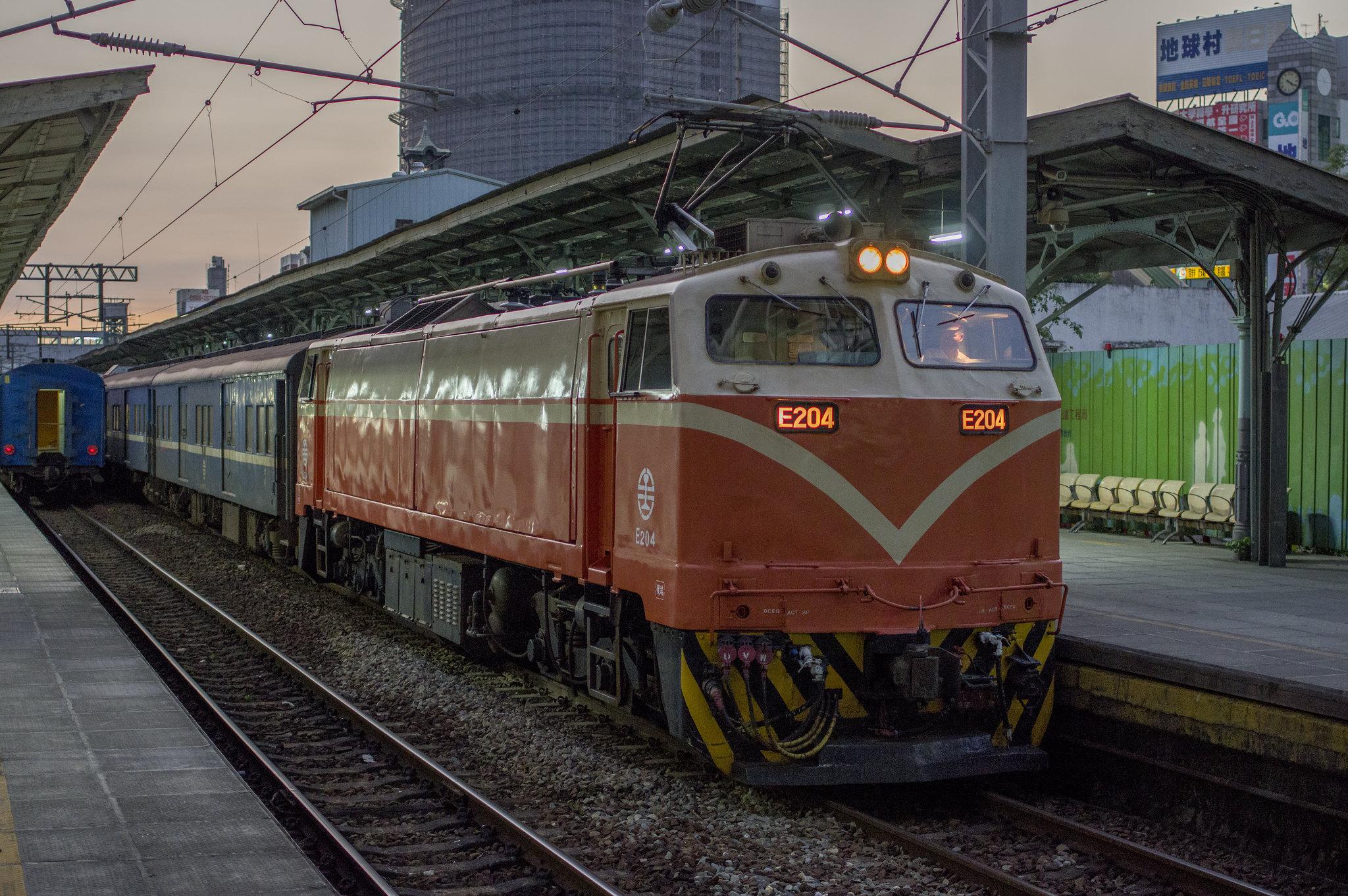台中鐵路地面段隨拍