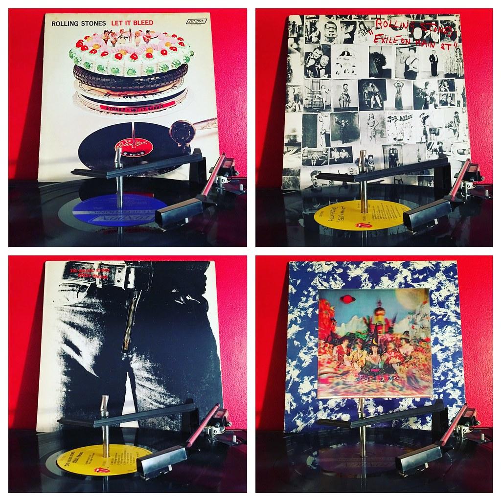 Turntable: The Rolling Stones | www artskooldamage blogspot … | Flickr