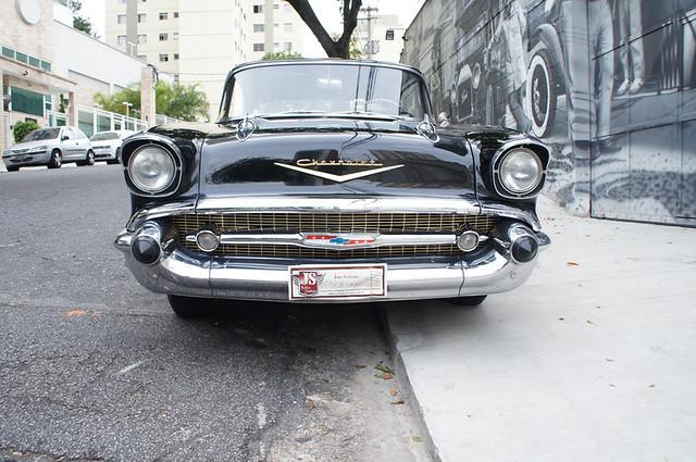 Chevrolet Belair 1957 V8 4 Portas Sem Coluna