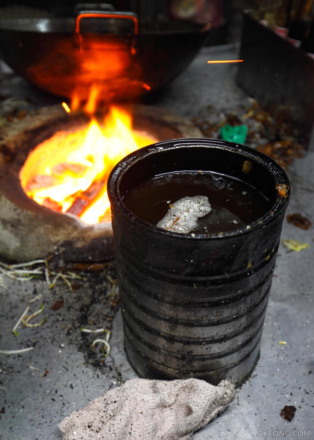 Char Koay Teow Pork Lard Oil