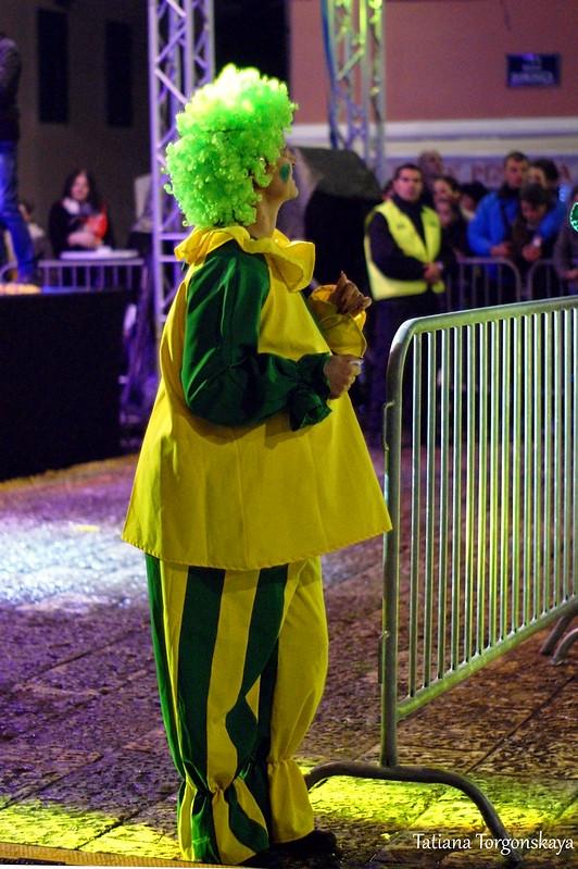 Клоун во время праздника