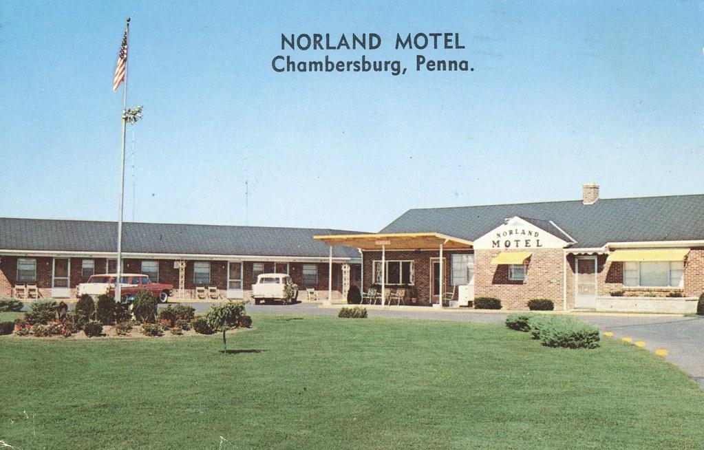 Norland Motel - Chambersburg, Pennsylvania