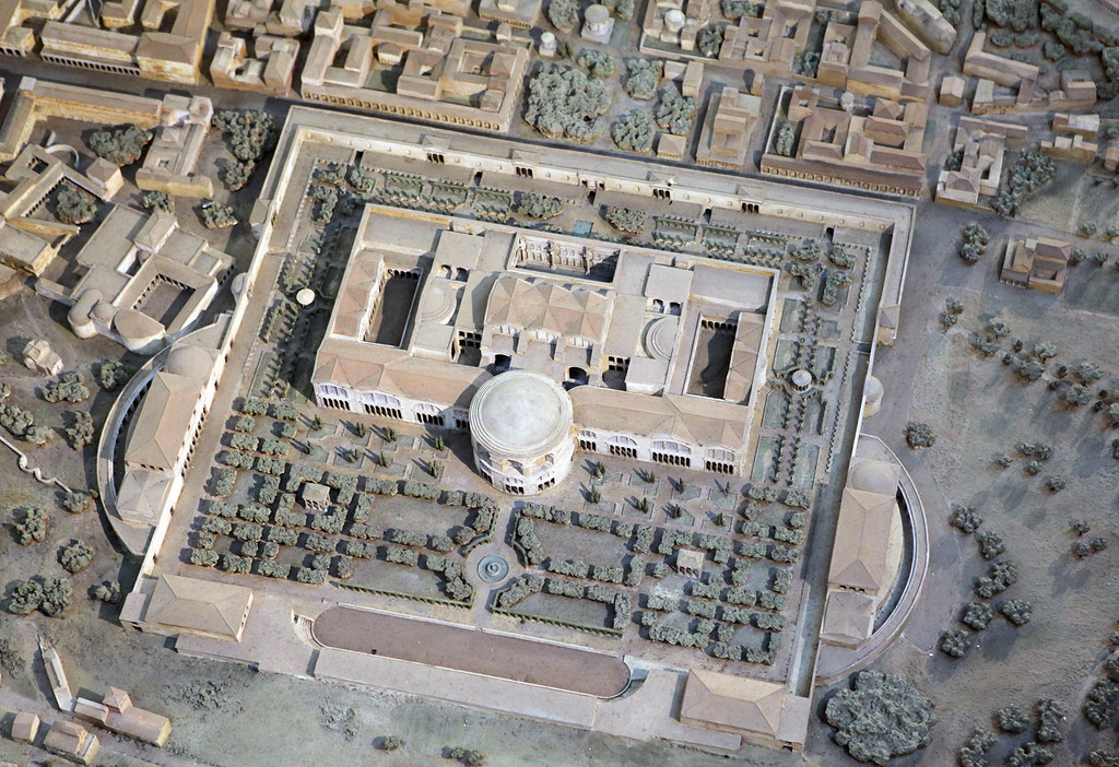 Model of the Baths of Caracalla
