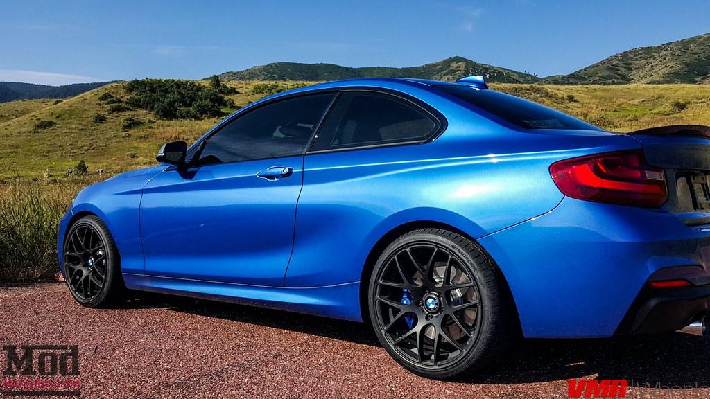 Hankook Ventus V12 Evo2 >> BLUE BMW M235i F22 | VMR V710 Matte Black 19×8.5 / 19×9.5 Ha… | Flickr
