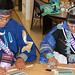 Zuni Pueblo high school students are enjoying science experiments.