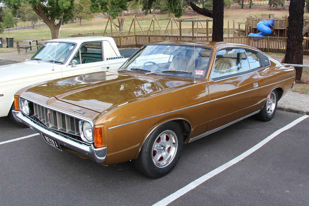 1974 Chrysler Valiant Vj Charger 770 Topaz Gold The Vj