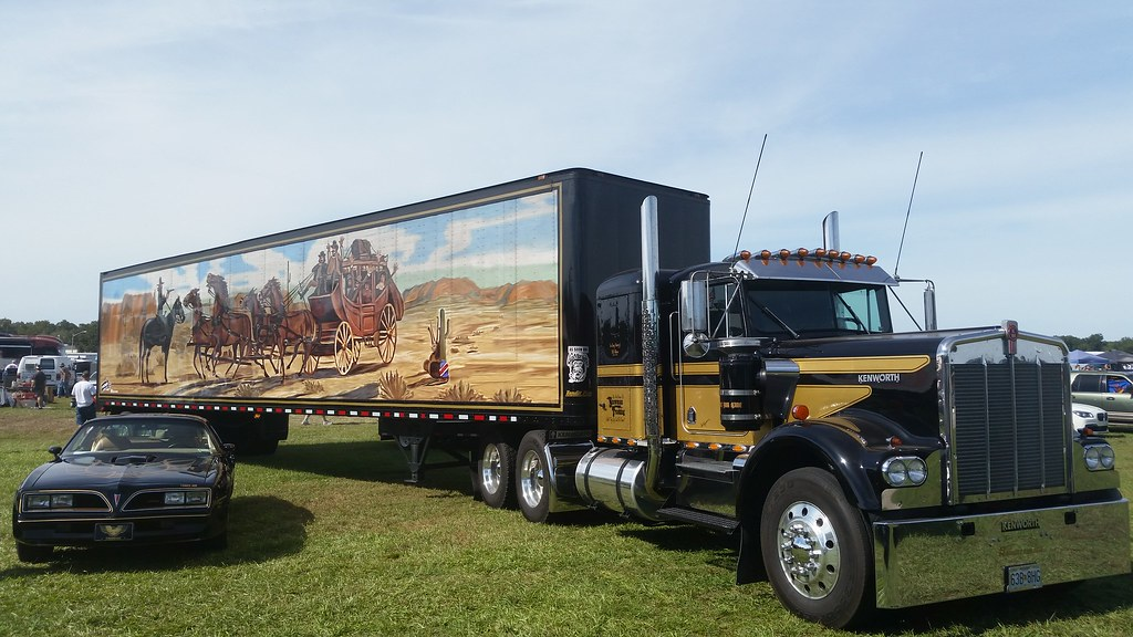 east bound and down 1981 kenworth w 900a. Black Bedroom Furniture Sets. Home Design Ideas