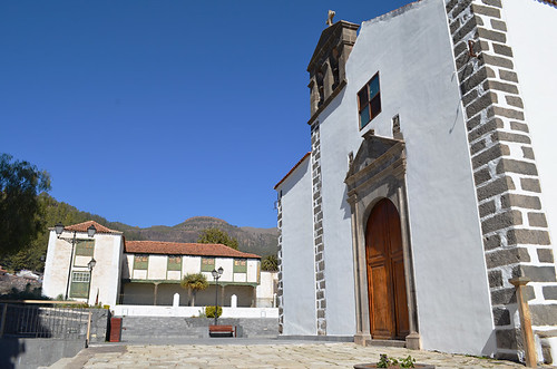 Main church and plaza, Vilaflor, Tenerife