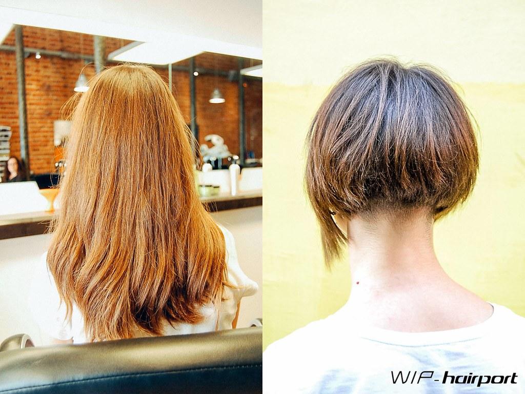 Long To Short Bob Haircut By Joana Wip Hairport Flickr