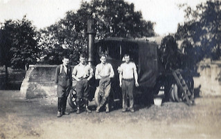 Foden Lorry or Fumigating Machine at Baths, Armentieres