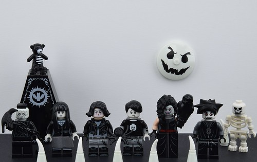 Lego Gothic Characters Hi Guys It S Alex Here Look