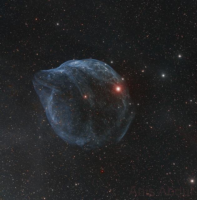 Mai kép - Egy Wolf-Rayet - köd: Sh 2-308 - VCSE