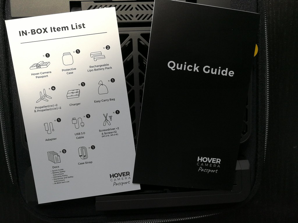Unboxing the Hover Camera - Alvinology