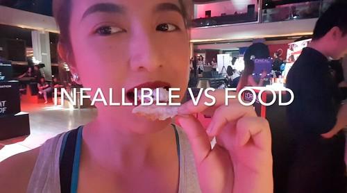 L'Oreal Infallible vs Food