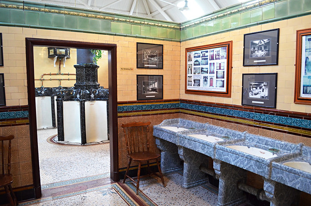 Victorian toilets, Rothesay, Bute, Scotland
