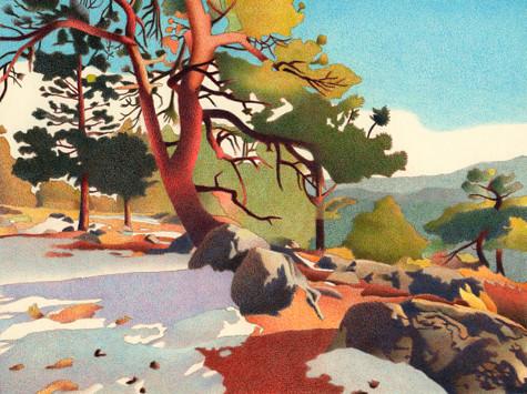 Fillius Ridge. Artist Dan Miller